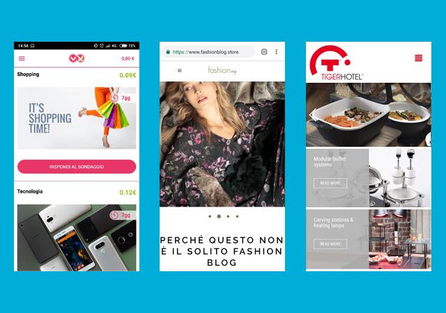 realizzazione app native, app ibride, web app